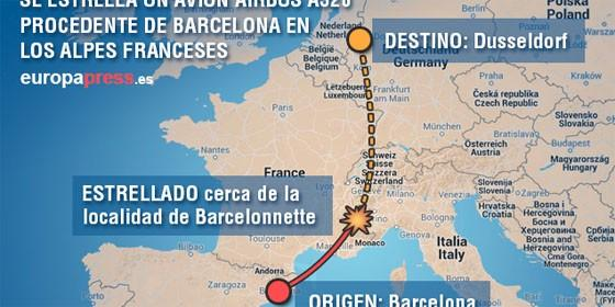 Infografía del accidente en Europa Press