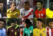 Eliminatorias sudamericanas 2018