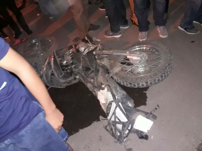 Accidente de tránsito San Isidro