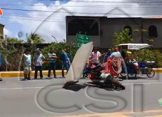 Accidente Sébaco Matagalpa