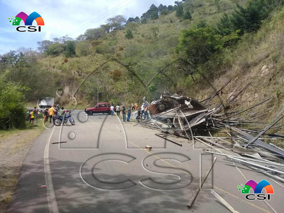 Lesionados en accidente