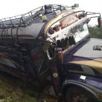 Accidente de bus en Jinotega