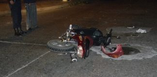 accidente motos